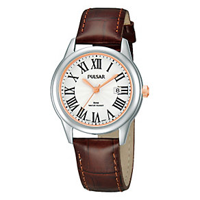 Pulsar Ladies' Two Tone Strap Watch - Product number 1382152