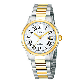 Pulsar Ladies' Two Tone Bracelet Watch - Product number 1382276