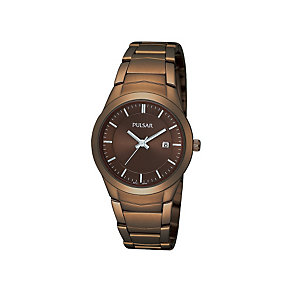 Pulsar Ladies' Brown Bracelet Watch - Product number 1382292