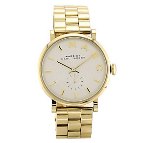 Marc by Marc Jacobs Baker ladies' gold-plated bracelet watch - Product number 1382985