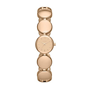 DKNY Roundabout ladies' rose gold-plated bracelet watch - Product number 1383345