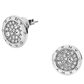 DKNY Ladies' Stone Set Stainless Steel Stud Earrings - Product number 1384376