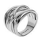 DKNY stainless steel woven ring - Product number 1384465