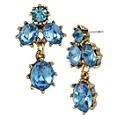 Betsey Johnson Blue Cluster Stud Earrings - Product number 1386662