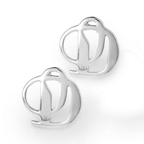Project D stainless steel logo stud earrings - Product number 1386735