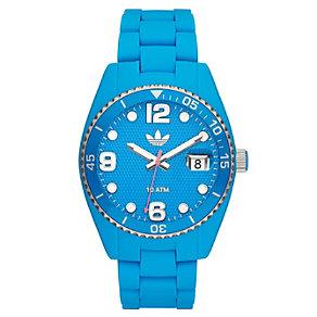 Adidas Originals Brisbane Blue Silicone Strap Watch - Product number 1386875