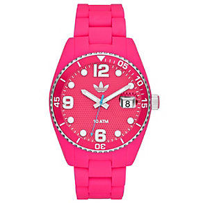 Adidas Originals Brisbane Pink Silicone Strap Watch - Product number 1386883