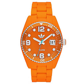 Adidas Originals Brisbane Orange Silicone Strap Watch - Product number 1386891
