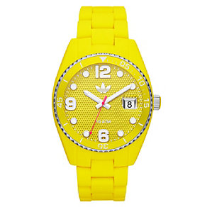 Adidas Originals Brisbane Yellow Silicone Strap Watch - Product number 1386905