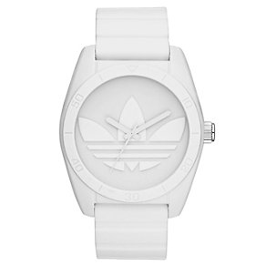 Adidas Originals Santiago White Silicone Strap Watch - Product number 1386913