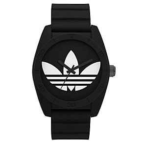 Adidas Originals Santiago Black Silicone Strap Watch - Product number 1386921