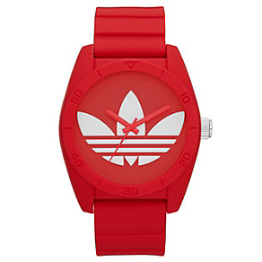 Adidas Originals Santiago Red Silicone Strap Watch - Product number 1386948