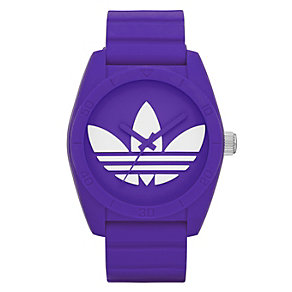 Adidas Originals Santiago Purple Silicone Strap Watch - Product number 1386956