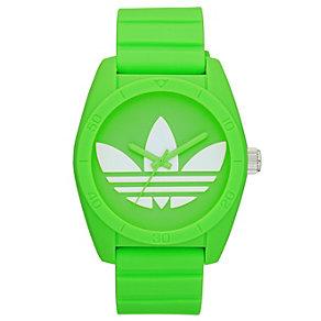 Adidas Originals Santiago Green Silicone Strap Watch - Product number 1386972