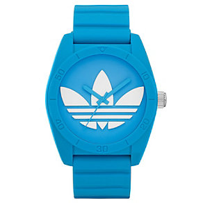 Adidas Originals Santiago Blue Silicone Strap Watch - Product number 1386999