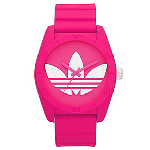 Adidas Originals Santiago Pink Silicone Strap Watch - Product number 1387014