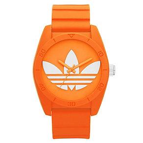 Adidas Originals Santiago Orange Silicone Strap Watch - Product number 1387030