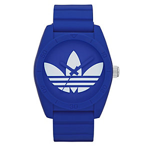 Adidas Originals Santiago Blue Silicone Strap Watch - Product number 1387189