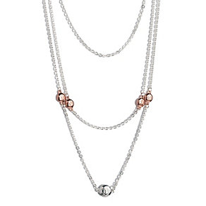Project D London two colour triple strand necklace - Product number 1387952