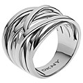 DKNY Stainless Steel Woven Ring Size M 1/2 - Product number 1388428