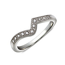 Perfect Fit Silver & Diamond Eternity Ring - Product number 1389793