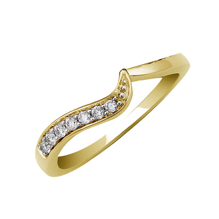 Perfect Fit 9ct Yellow Gold Diamond Eternity Ring - Product number 1390597