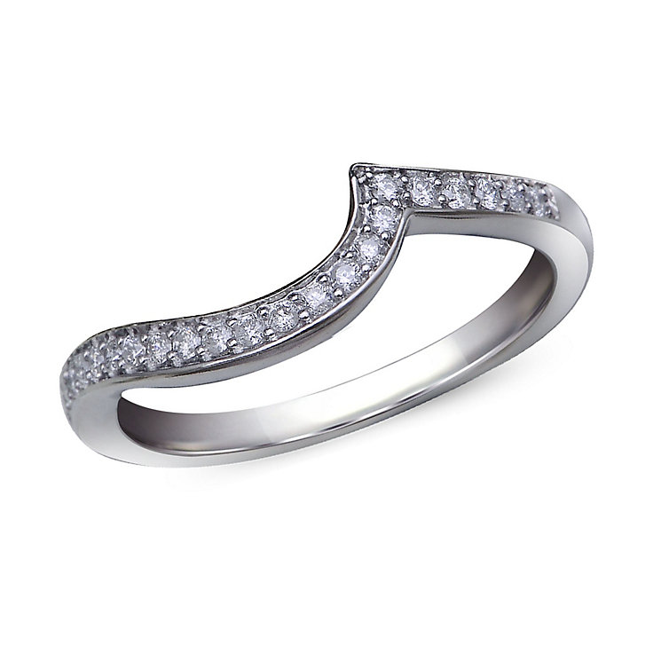 Perfect Fit 9ct White Gold Diamond Eternity Ring - Product number 1391402