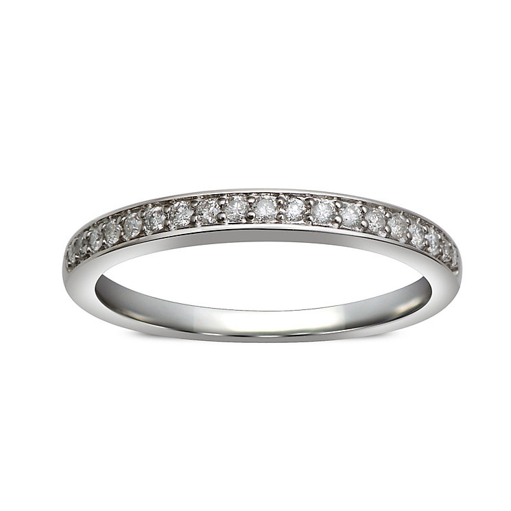 Perfect Fit 9ct White Gold Diamond Eternity Ring - Product number 1391542