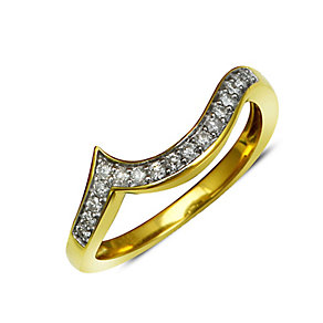 Perfect Fit 18ct Yellow Gold Diamond Eternity Ring - Product number 1392603
