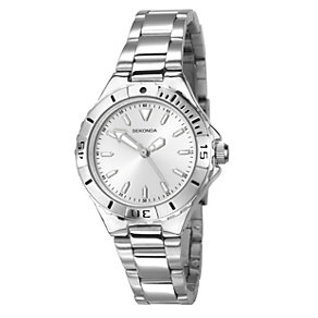 Sekonda Men's Silver Dial Stainless Steel Bracelet Watch - Product number 1392875