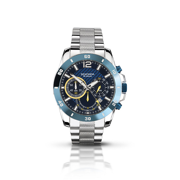 Sekonda Men's Stainless Steel Bracelet Watch - Product number 1394142
