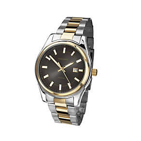 Sekonda Men's Two Colour Stainless Steel Bracelet Watch - Product number 1394215