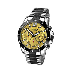 Sekonda Men's Chronograph Stainless Steel Bracelet Watch - Product number 1394231