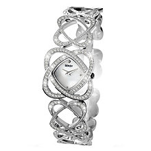 Seksy Crystal Swarovski Elements Bracelet Watch - Product number 1394290