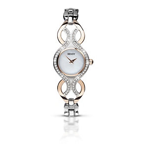Seksy Ladies' Two Tone Bracelet Watch - Product number 1394363