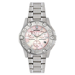 Rotary Aquaspeed Ladies' Stainless Steel Bracelet Watch - Product number 1394525