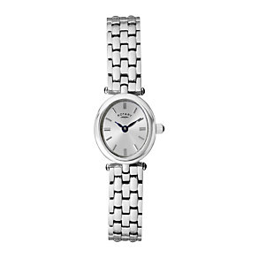 Rotary Ladies' Oval Dial Stainless Steel Bracelet Watch - Product number 1394967