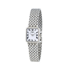 Rotary Men's Square Stainless Steel Bracelet Watch - Product number 1395009