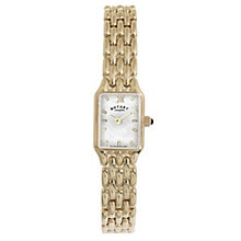 Rotary Ladies' Mother Of Pearl Gold-Plated Bracelet Watch - Product number 1395017