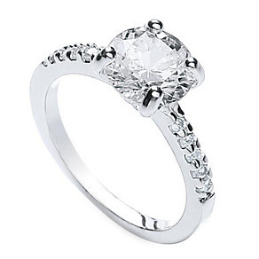 Buckley Cubic Zirconia Solitaire Ring - Product number 1395416