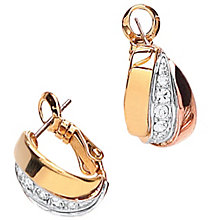 Buckley Crystal Set Russian Huggie Earrings - Product number 1395513