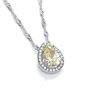 Buckley Crystal Pear Cut Pendant - Product number 1396021