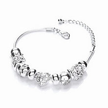 Buckley London Crystal Charm Bracelet - Product number 1396218