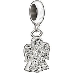 Chamilia Sterling Silver Hanging Angel Bead - Product number 1396722