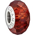 Chamilia Sterling Silver Red Murano Glass Jewelled Bead - Product number 1396757