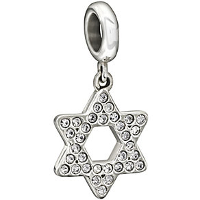 Chamilia Sterling Silver Crystal Set Star Of David Bead - Product number 1396781