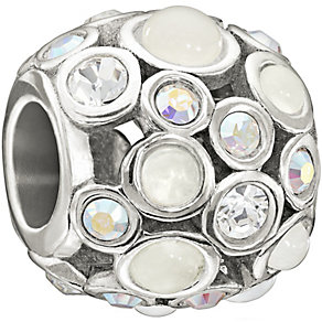 Chamilia Sterling Silver Crystal Set Captivate Bead - Product number 1396870