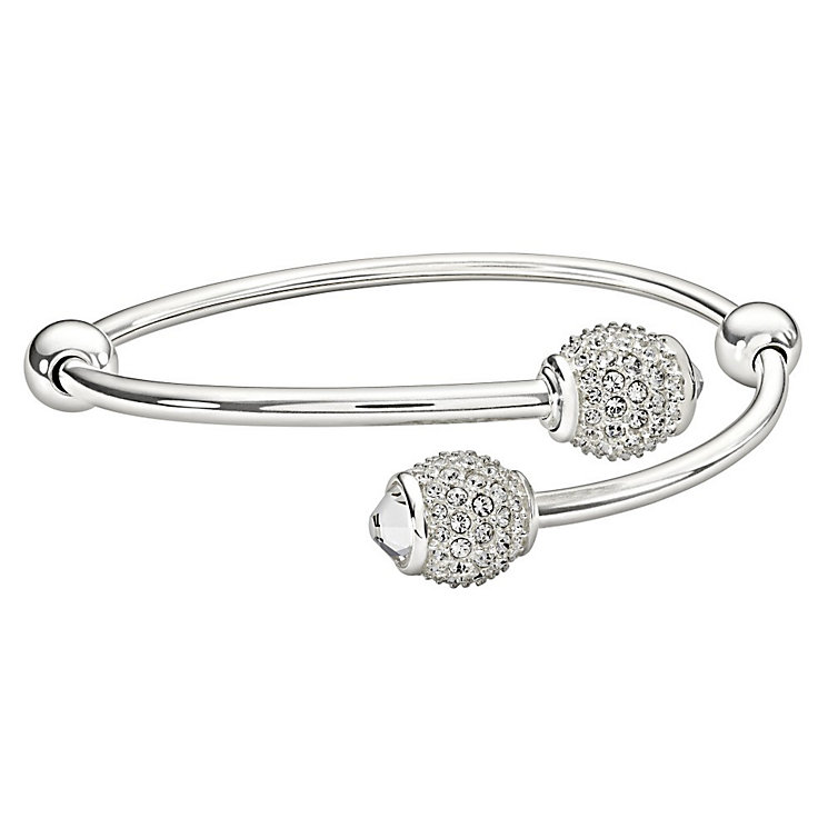 Chamilia Sterling Silver Pave Set Crystal Bangle Ends - Product number 1396935