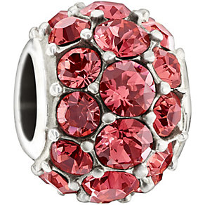 Chamilia Splendor With Swarovski Indian Pink Crystal Bead - Product number 1397001