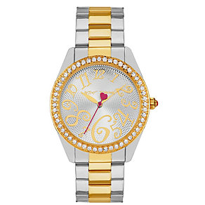 Betsey Johnson Ladies' Two Tone Bracelet Watch - Product number 1397745